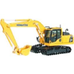 Komatsu PC 210-8 track excavator