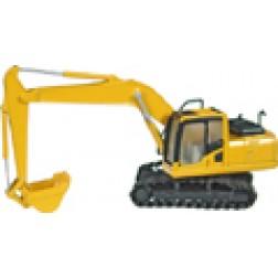 Komatsu PC 200-8 track excavator