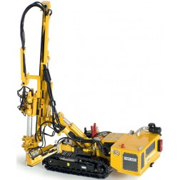 Hutte HBR 605 Hydraulic Drill Rig in Yellow