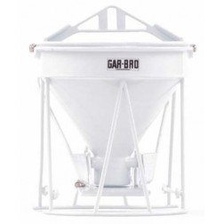 "GAR-BRO ""R"" SERIES LIGHTWEIGHT ROUND GATE CONCRETE BUCKET"