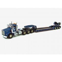 Kenworth T800W w/4-Axle Rogers Lowboy - Miller Transfer