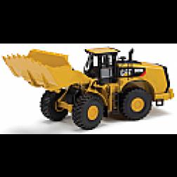 Caterpillar 980K wheel loader with rock bucket