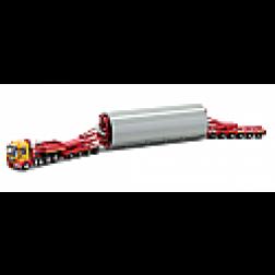 Mecedes tractor with Goldhofer bridge trailer