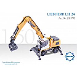 Liebherr LH 24 material handler on wheels