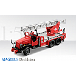 EX US GI 2 1/2 ton chassi converted to German fire ladder truck