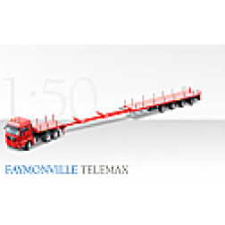 MAN TGX tractor with Faymonville extendable trailer