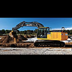 John Deere 210G track excavator