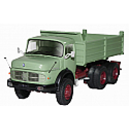 Mercedes 3 axle dump truck