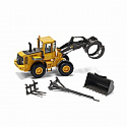Volvo L90E wheel loader w/bucket, boom and pallet forks