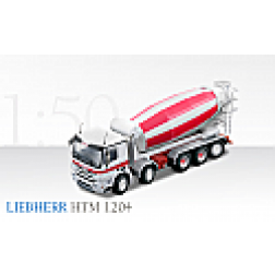 Mercedes 5 axle truck with Liebherr HTM 1204 mixer