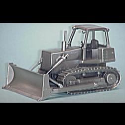 John Deere 850 dozer crafted in pewter.