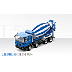 Mercedes Actros with Lieberr HTM mixer