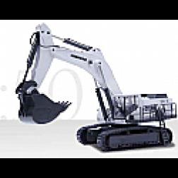 Liebherr R9100 track excavator