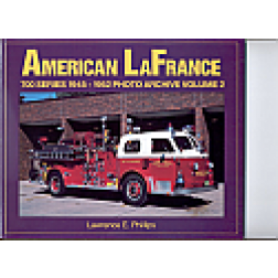 American La France Fire equipment 1945 to 1952 book