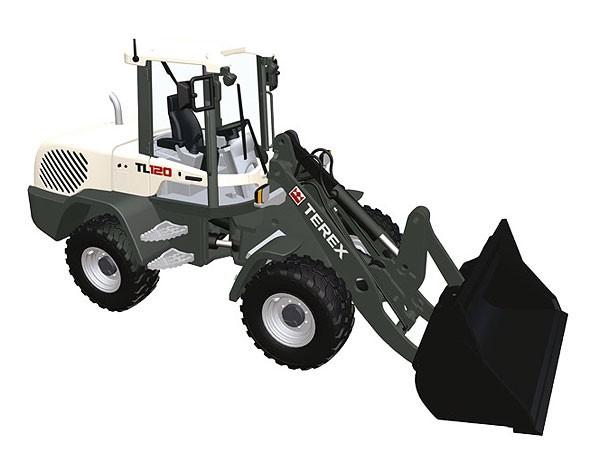terex tl 120 wheel loader nzg diecast wg product. Black Bedroom Furniture Sets. Home Design Ideas