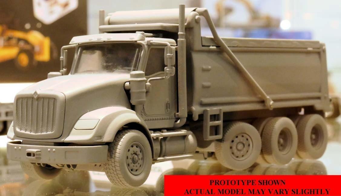 INTERNATIONAL HX620 DUMP TRUCK-PREORDER - DieCast Masters ...