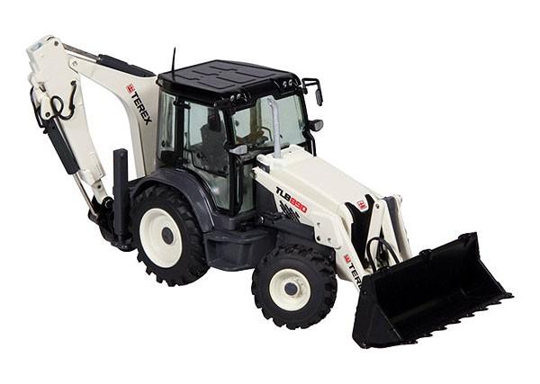 terex tlb890 tractor backhoe loader nzg diecast wg. Black Bedroom Furniture Sets. Home Design Ideas