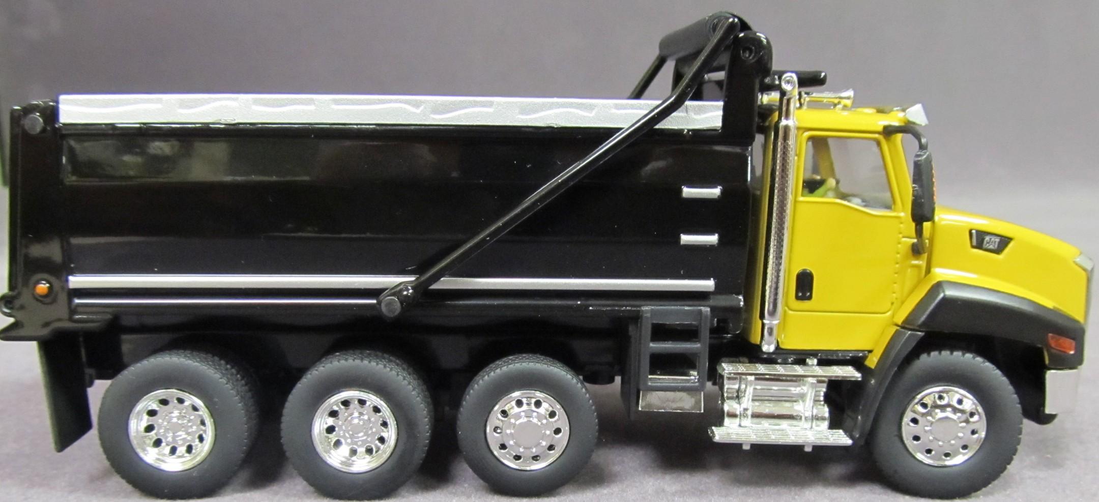 Caterpillar Ct660 Yellow Dump Truck Diecast Masters