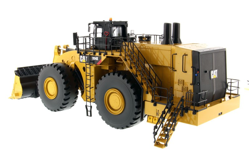 Caterpillar 994K Wheel Loader with Rock Bucket - High Line Series - DieCast Masters - Product ...