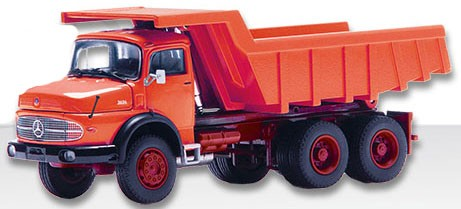 Mercedes LAK 2624 with quarry dump body