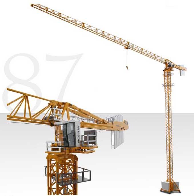 POTAIN Rotating tower crane MDT 389