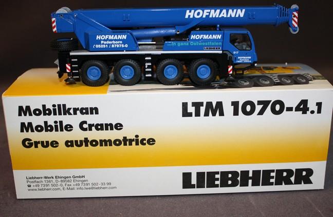 Liebherr LTM 1070-4 .1 crane 'HOFFMAN'