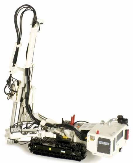 Hutte HBR 605 Hydraulic Drill Rig in White