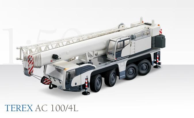 Terex AC 100/4 4 axle truck crane