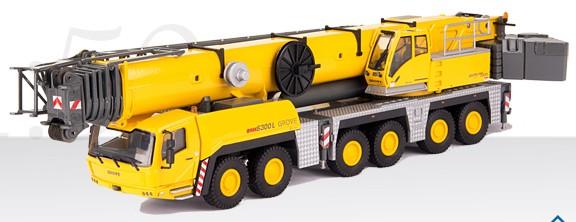 GROVE All-Terrain crane GMK 6300-L, incl. boom extension