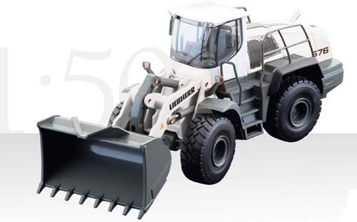 Liebherr L 576 wheel loader white version