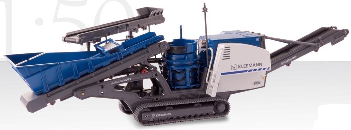 KLEEMANN Mobicone 9 EVO Track-mounted cone crusher