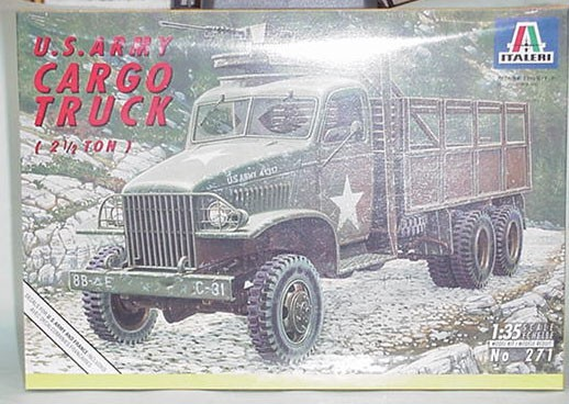 WW 2 2 1/2 ton truck model kit