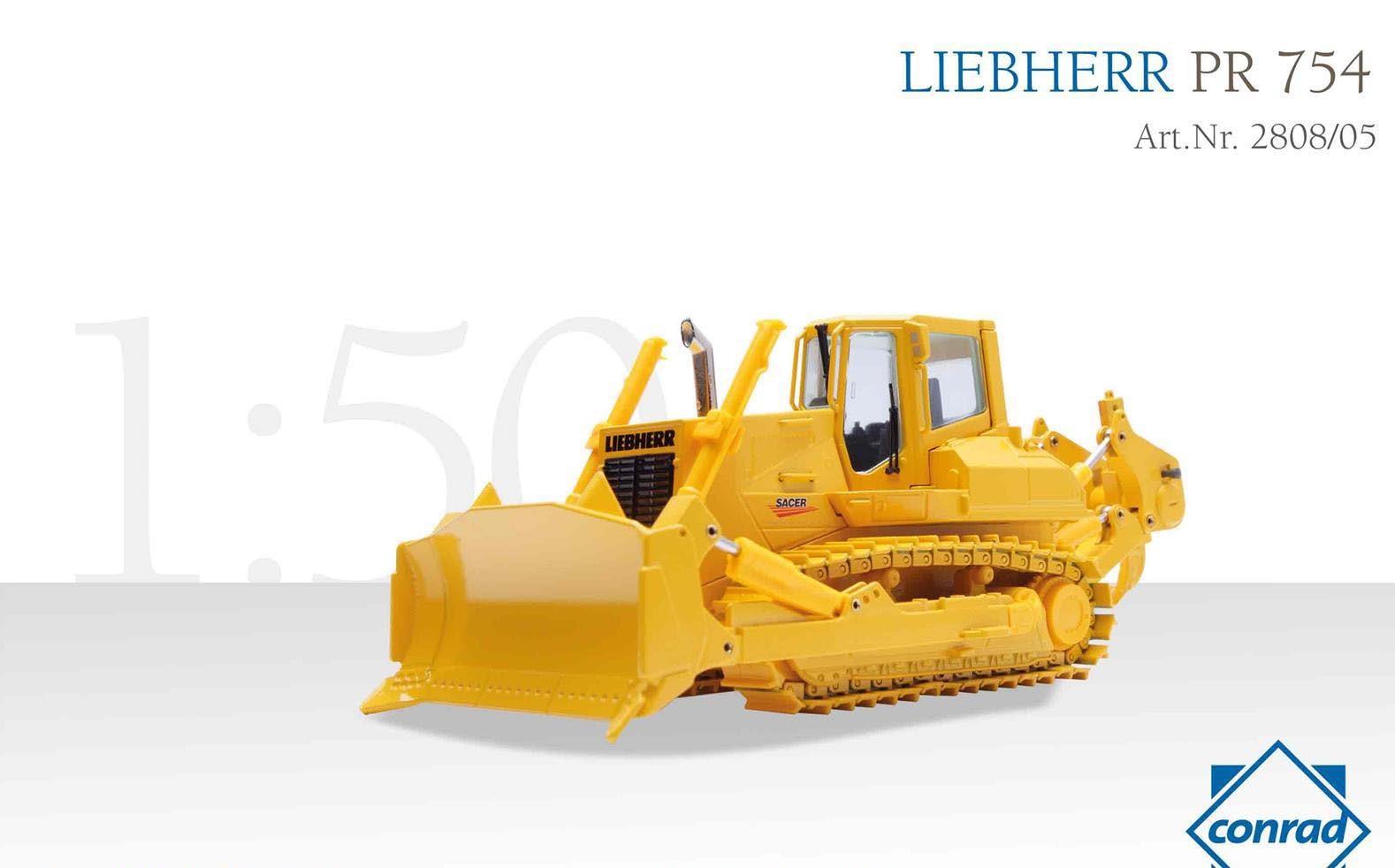"""LIEBHERR PR 754 """"SACER"""" metal track dozer"""