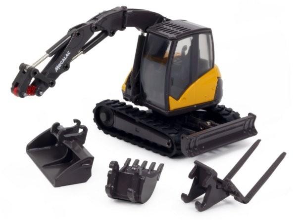 Mecalac 8MCR Crawler Excavator-Updated Version