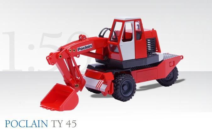 Poclain TY 45 moble excavator
