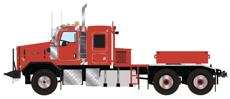 Kenworth C500B Heavy Tractor w/Ballast Box - Red