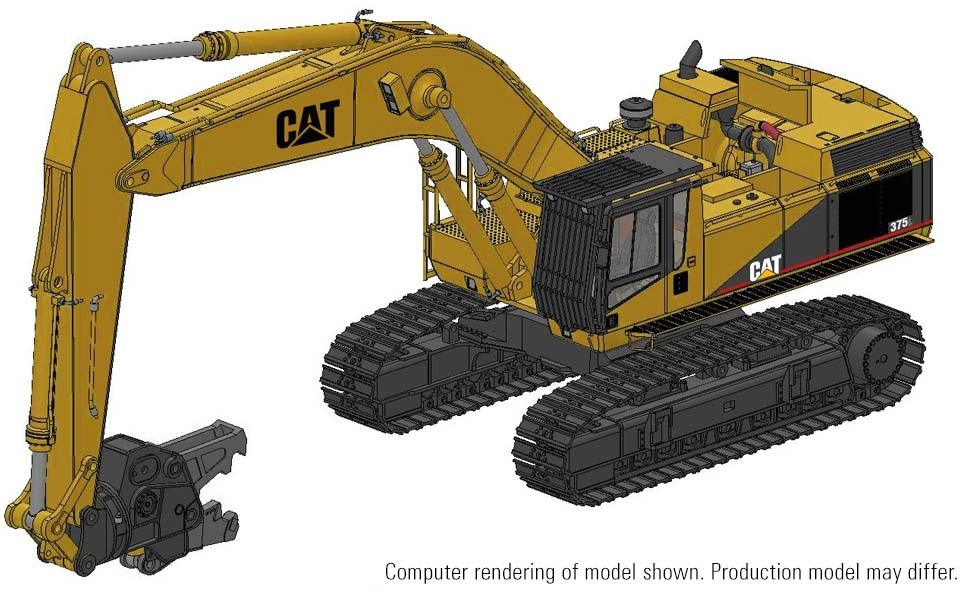 Cat® 375L Demolition Excavator – Die-Cast-PREORDER-PRODUCTION RUN, PRODUCTION YEAR  TO BE DETERMINED
