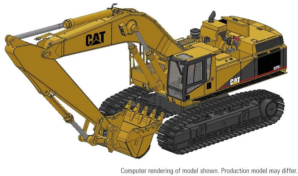 Cat® 375L Hydraulic Excavator – Die-Cast-PREORDER-PRODUCTION RUN, PRODUCTION YEAR AND PRICE TO BE DETERMINED