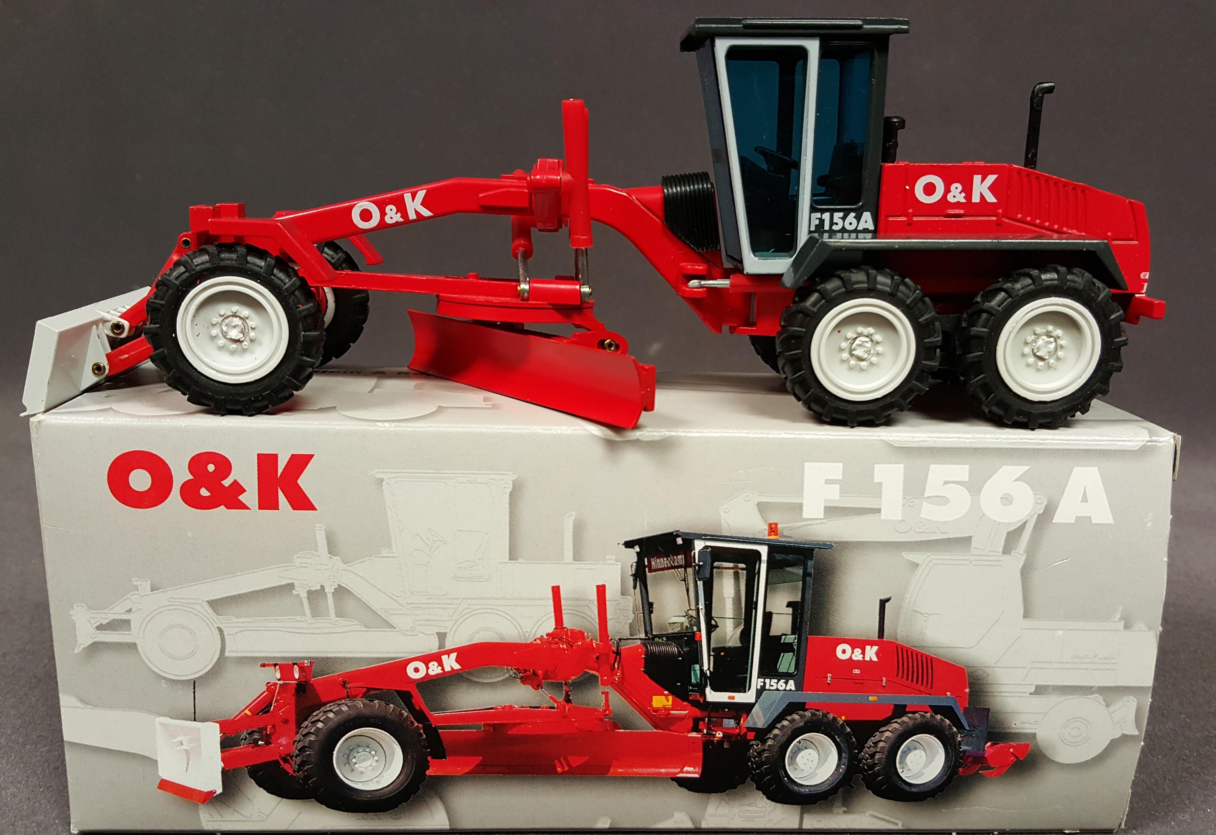 O&K F156 Motor grader