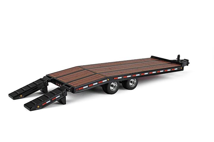 Beavertail trailer-Black