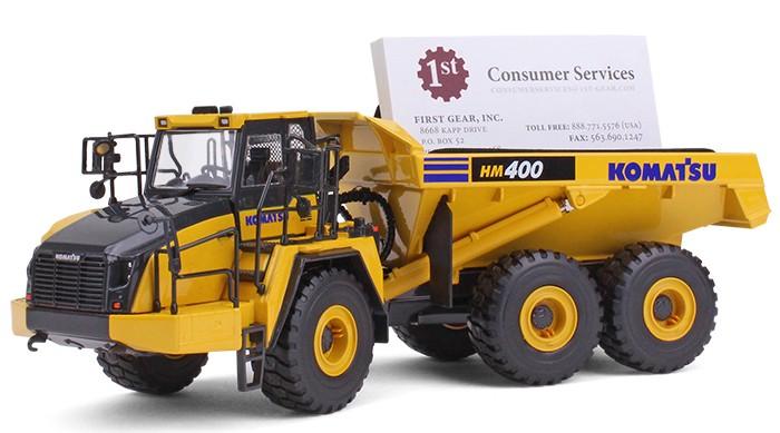 Komatsu HM400-5 Articulated Dump Truck with business card holder