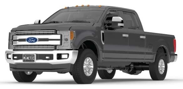 FORD F-250 SUPER DUTY PICKUP-MAGNETIC GRAY
