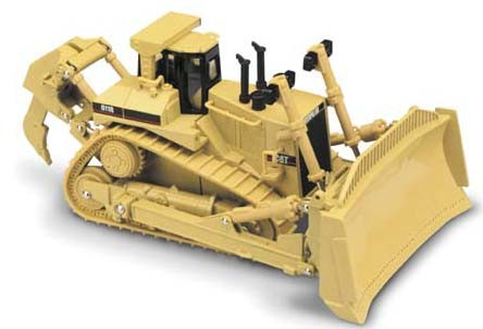 Cat D11 R with rubber tracks