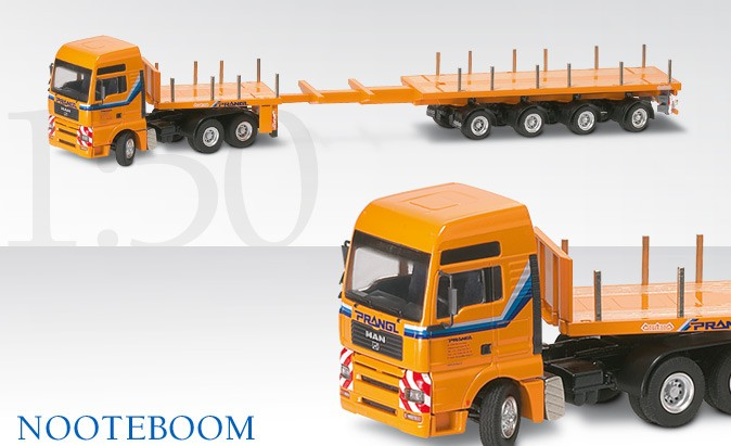 MAN TGA XXL WITH NOOTEBOOM TRAILER