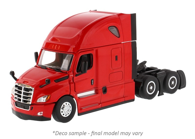 Freightliner New Cascadia with Sleeper in Red - Cab Only