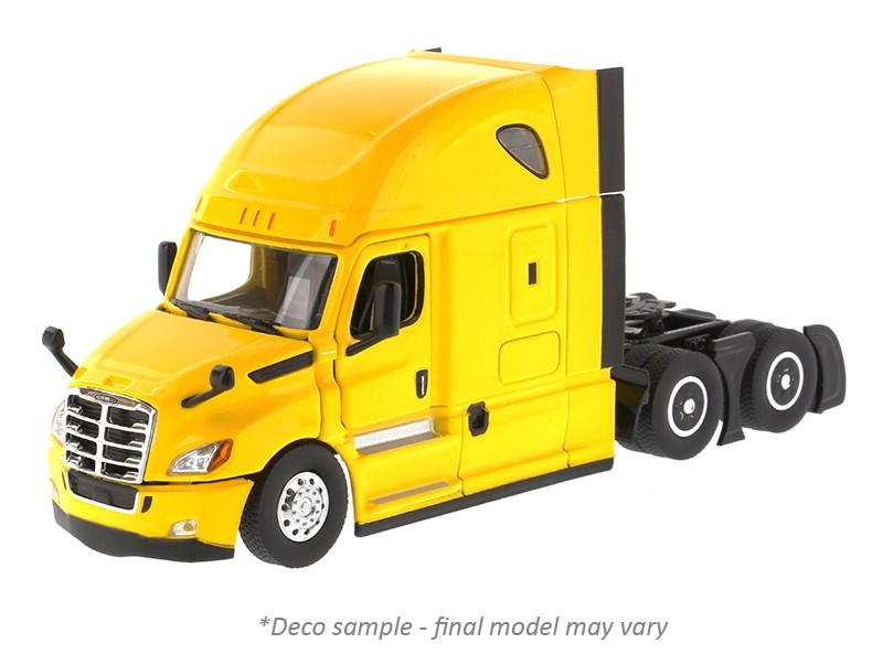 Freightliner New Cascadia with Sleeper in Yellow - Cab Only