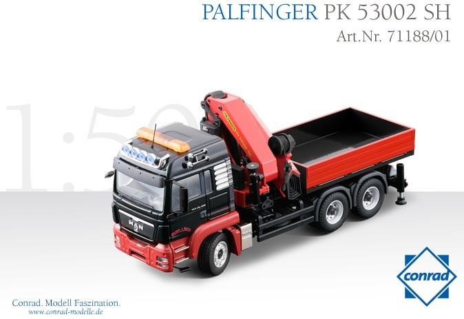 "MAN TGS 26.480 WITH PALFINGER PK 53002 CRANE ""REINDL&KASTL"""