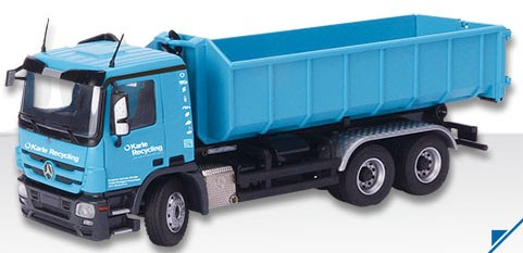 """Mercedes MP03 3 axle truck with """"Meiller"""" roll off-""""Karle"""""""