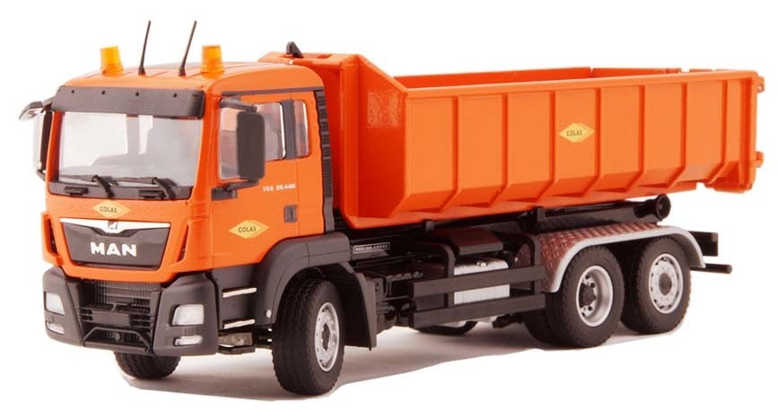 """MAN TGS M 3 axle Roll On/Off Truck-""""Colas"""""""