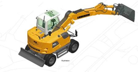 Liebherr A 918 wheel excavator